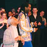 Performing with Brownie in Oklahoma City University
