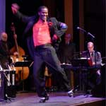National Tap Day 2012 - Old Time Radio Hour. Reggio and the Alan Gresik Swingtime Orchestra